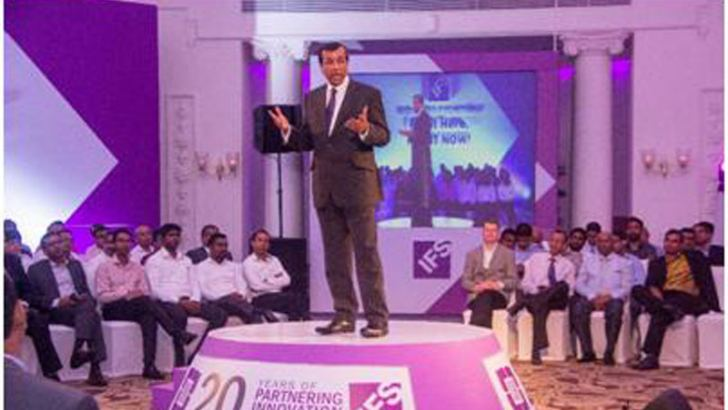 Jayantha De Silva – President and  CEO addressing the gathering