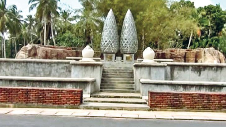 The D.A. Rajapaksa Museum and  Memorial in Medamulana.