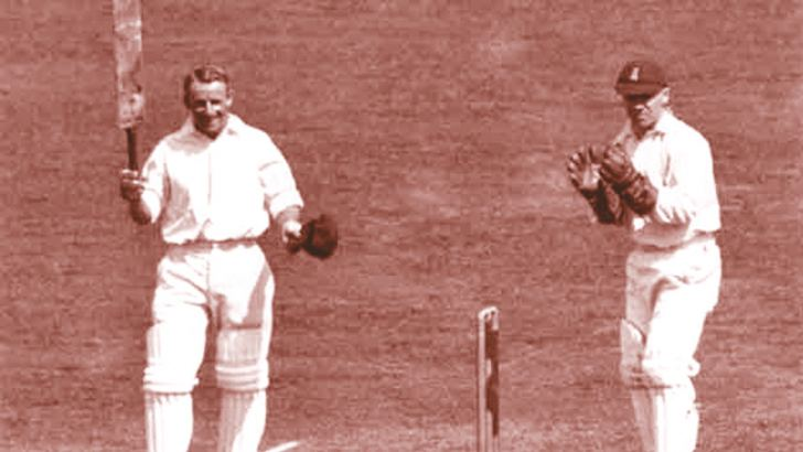 Don Bradman scored three double centuries in seven innings in the 1930 Ashes series between England and Australia.