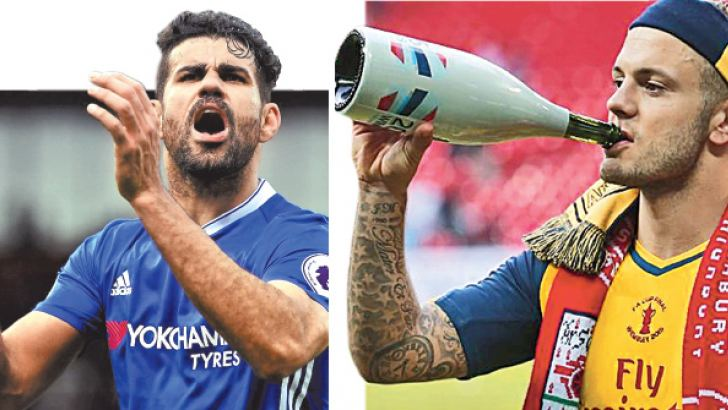 Diego Costa is a master of football's dark arts.-Jack Wilshere's off-field behaviour makes him a poor role model.