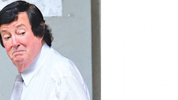 Shaddick arriving at the Colombo High Court to testify in the case against Gammanpila.