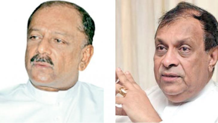 MP Dinesh Gunawardena and Speaker Karu Jayasuriya