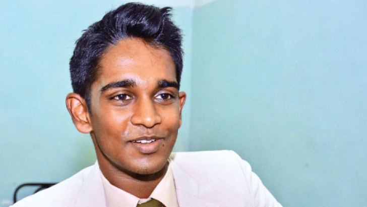 Head Boy of Asian International School Tarish  Rajakarier. Pictures by Sarath Peries.