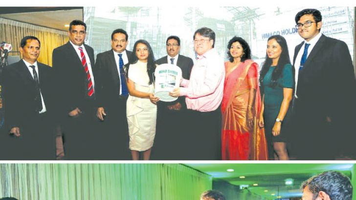 Inmark Eco Solutions (Pvt) Ltd website was launched by Himako Holdings Chairman/CEO, Himal Ariyasena with Inmark (Pvt) Ltd Managing Director Benuka Ariyasena. Pictures by Saliya Rupasinghe