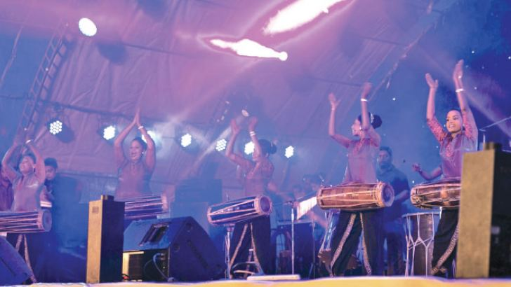 Stills from Galle Music Festival