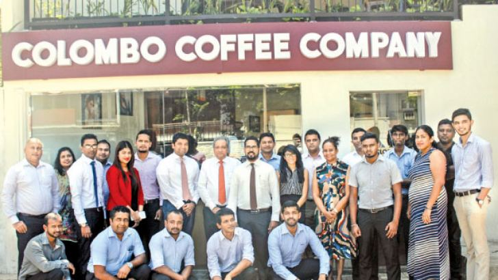 Colombo Coffee Company team at the event