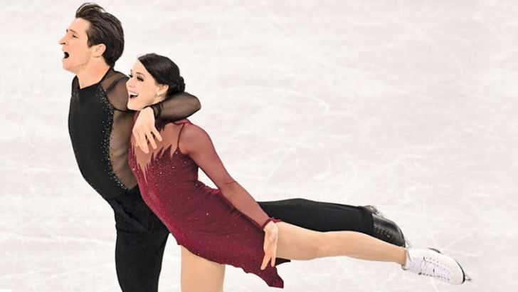 Canada's Tessa Virtue and Scott Moir win the ice dance after a magigal free dance on Tuesday during the Pyeongchang 2018 Winter Olympic Games. AFP