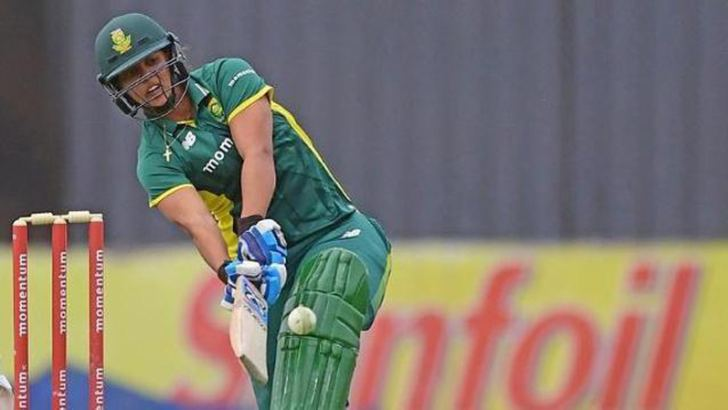 Chloe Tryon scored 32 runs in just seven deliveries during the first T20 between India women and South Africa.