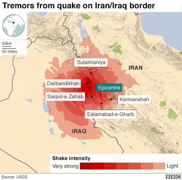 Iran iraq border earthquake is deadliest of 2017 daily news population density and what is known about local construction methods its inexact work but the first bulletins suggested this event could produce gumiabroncs Gallery